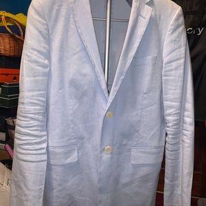 GANT Slim Fit Stretch Linen Jacket Blazer